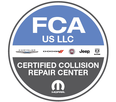 FCA Certified Collision Repair Facility